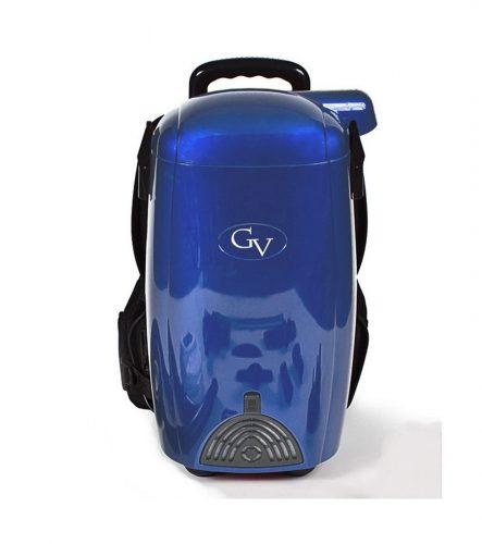 BLUE GV 8 Qt Quart Light Powerful HEPA Backpack Vacuum blower Loaded w 2 yr warranty