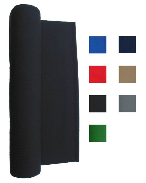 Performance Grade Pool - Billiard Cloth - For a 7 Foot Table Black