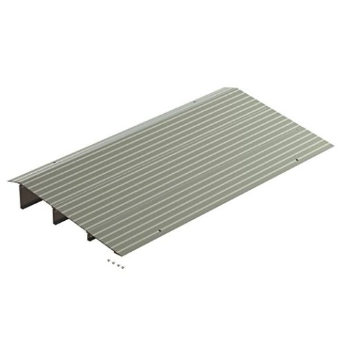 EZ-ACCESS, Transitions Modular Entry Ramp, 3 Inch (10.55 Pounds), Sturdy Entry Ramp in Lightweight Aluminum, Add Modules as Needed For Custom Build, Great for Wheelchairs, Walkers, Scooters