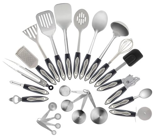 Stainless Steel Kitchen Utensils Set- [23 Pc set]