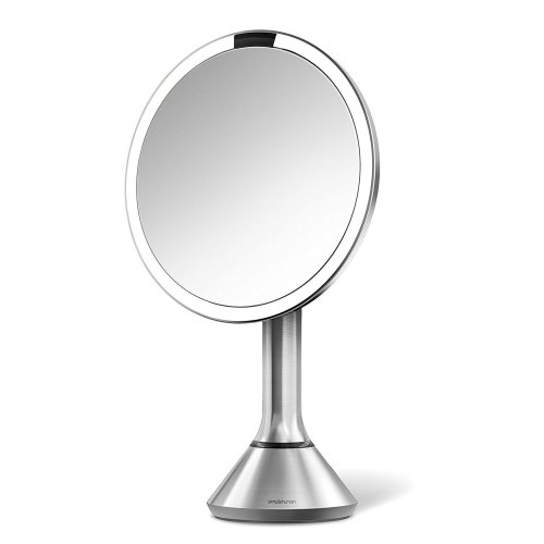 Simplehuman Sensor Mirror – Sensor-Activated Lighted Makeup Mirror