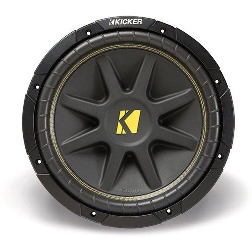Kicker 10C104 Comp 10-Inch Subwoofer 4 Ohm (Black) - 10 inch subwoofer