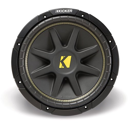 Kicker 10C104 Comp 10-Inch Subwoofer 4 Ohm (Black) - 10 inch subwoofer