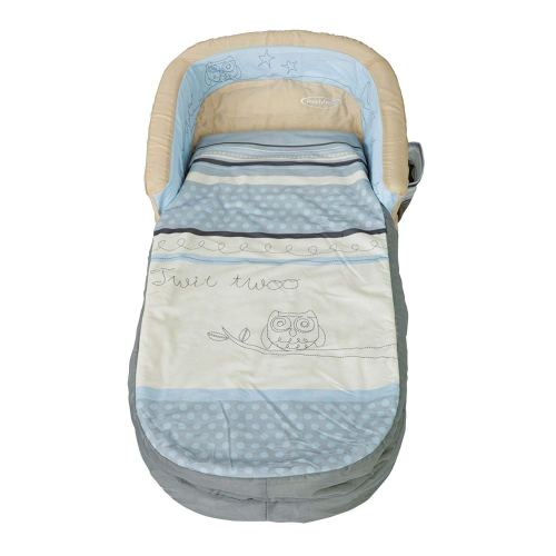 My First ReadyBed, Sleepytime Owl (Blue) by Words Apart, Ages 18 months - 3 years