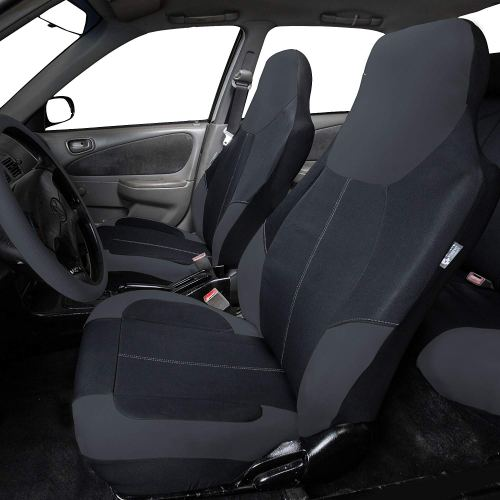 FH Group FB116 Black 115 Neoprene Neo Modern Seat Cover