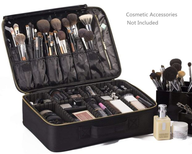 ROWNYEON Portable EVA Professional Makeup Case