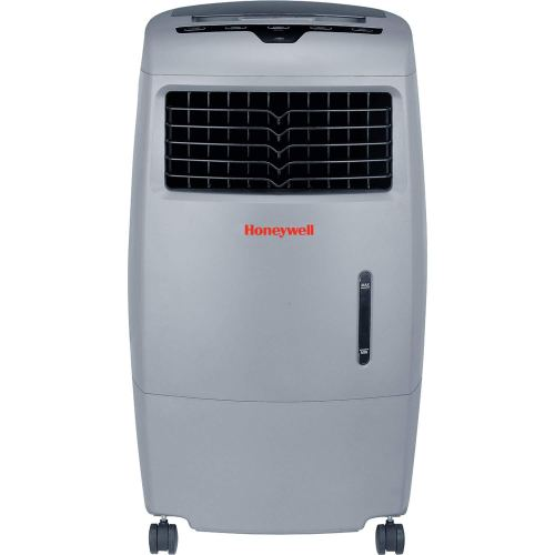 Honeywell 500 CFM Indoor Outdoor Portable Evaporative Cooler Fan & Humidifier, Washable Dust Filter & Remote Control, CO25AE