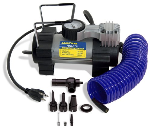 Bon-Aire Goodyear i8000 120-Volt Direct Drive Tire Inflator - Electric Tire Pump