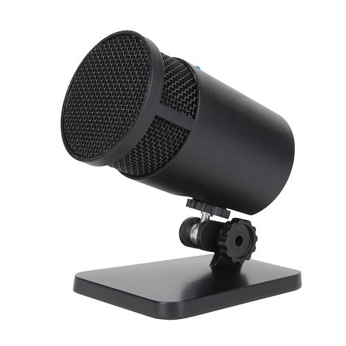 Cyber Acoustics USB Condenser Microphone for Podcasts, Gaming, Vocal, Music, Studio and Computer Recordings - Mic compatible with PC and Mac - Cardioid/Directional Recording Pattern (CVL-2001)