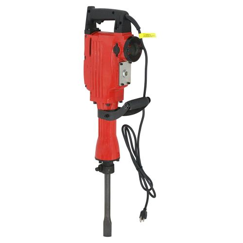 ZENY 2200W Heavy Duty Electric Demolition Jack Hammer Concrete Breaker Drills w/Case, Gloves 2 Chisel 2 Punch Bit Set