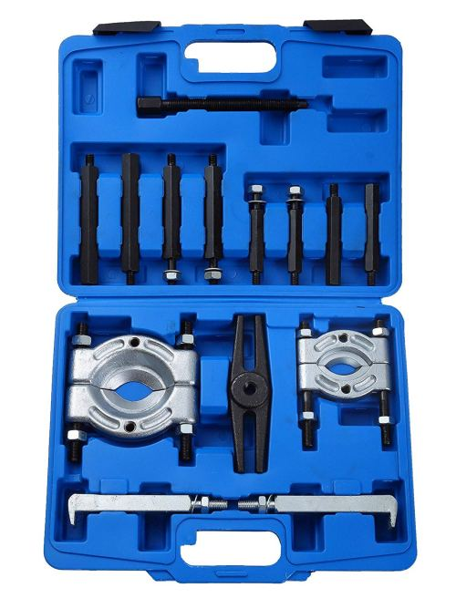 "DASBET 14PCS Bearing Separator Puller Set 2"" and 3"" Splitters Remove Bearings Kit"
