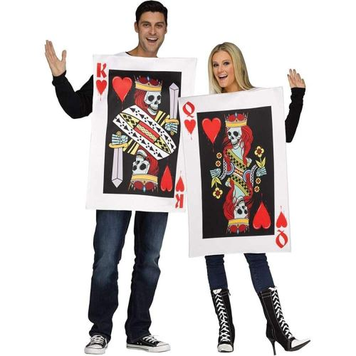 Fun World King and Queen of Hearts Cards