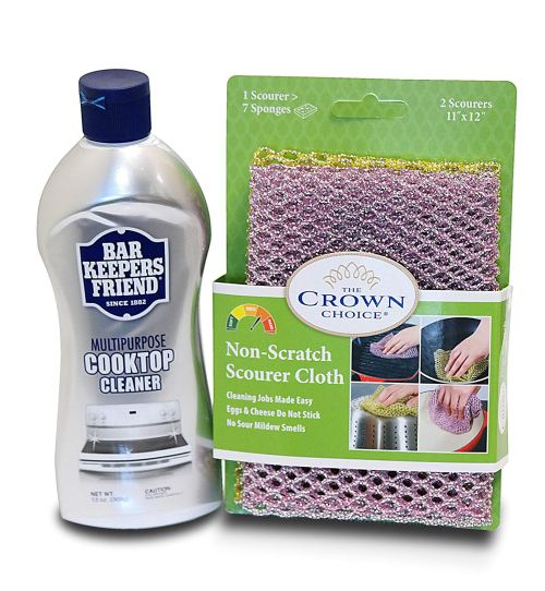 BAR KEEPERS FRIEND Cooktop Cleaner Kit