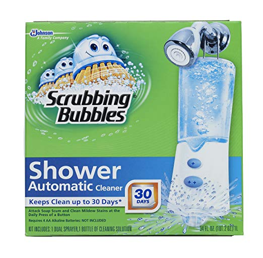Scrubbing Bubbles Automatic Shower Cleaner, Starter Kit - Automatic Shower Cleaners
