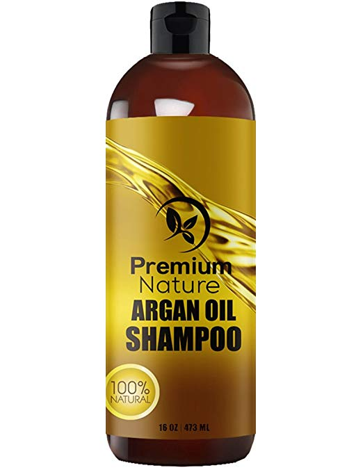 Argan Oil Shampoo Sulfate Free - Natural Clarifying & Volumizing