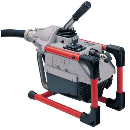 RIDGID 66492 K-60SP Sectional Machine, Compact Sectional Drain Cleaning Machine with Easy Snake Cable Changes, Drain Cleaner Machine (Sectional Cable Sold Separately)