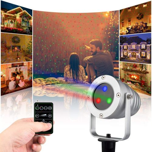 Starry Laser Lights Landscape Projector Lights Outdoor Waterproof Laser Lamp