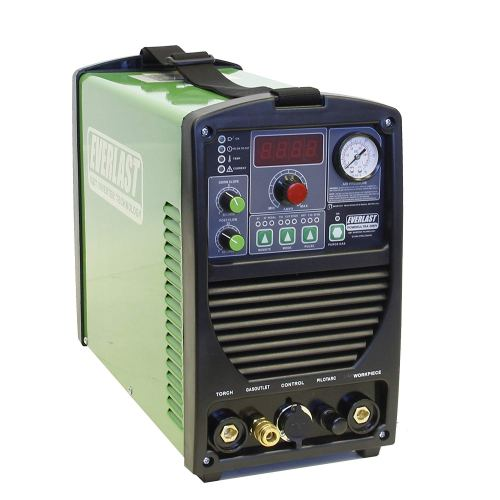 2017 Everlast PowerUltra 206Pi 200a Multi Process Welder TIG Stick Pulse 50a Plasma Cutter Dual Voltage 110/220v