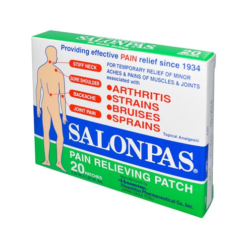 Salonpas Pain Relieving Patch