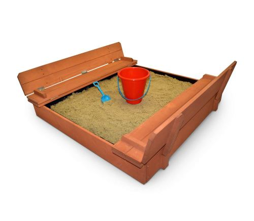 Back Bay Play Kids Wood Sandbox