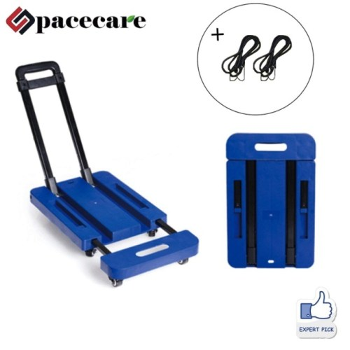 SPACECARE Folding Luggage Cart Portable Hand Truck