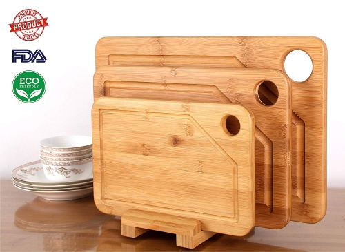 Mohy Bamboo Products Premium Bamboo Cutting Board