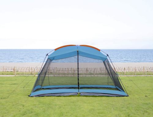 RORAIMA Bugs Proof Roomy Screen House 13'x9'x6.9', Instant Canopy Shelter Screen Tent,Easy Installation Within Mins and Good for Family Picnic Suitable for 5-8 People