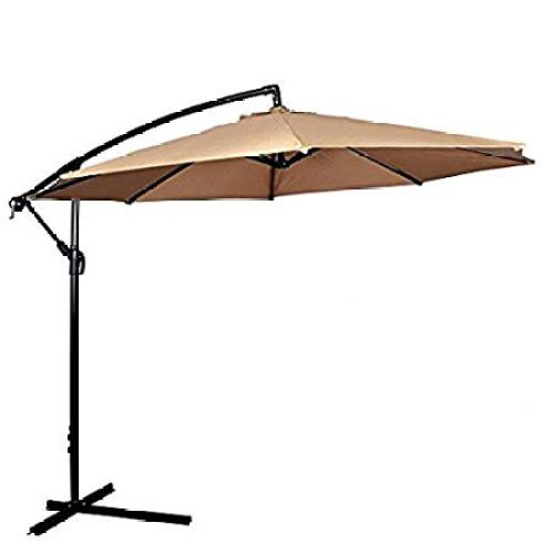 MR Direct Patio Umbrella Offset 10'
