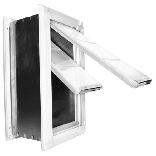 Endura Flap Double Flap Wall Mount Pet Door