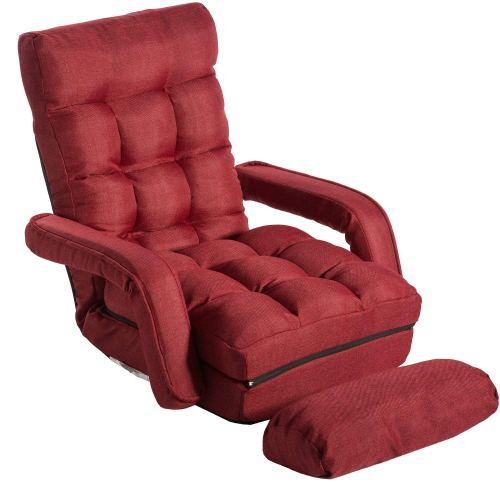 Merax Folding Lazy Floor Chair Sofa Lounger Bed