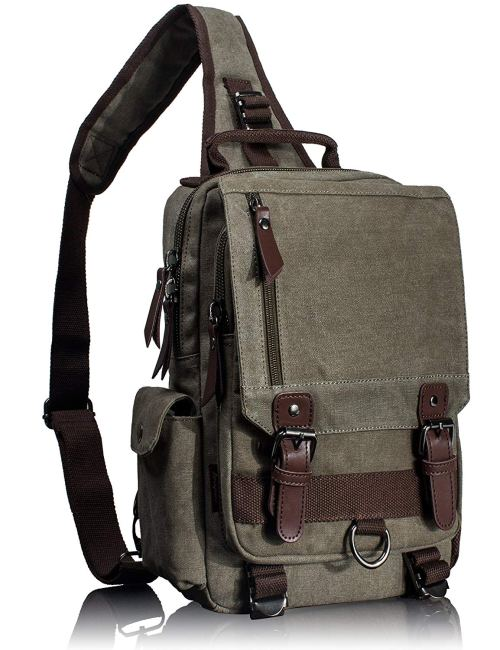 Leaper Canvas Messenger Bag