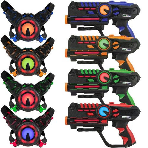 ArmoGear Infrared Laser Tag Blasters and Vests