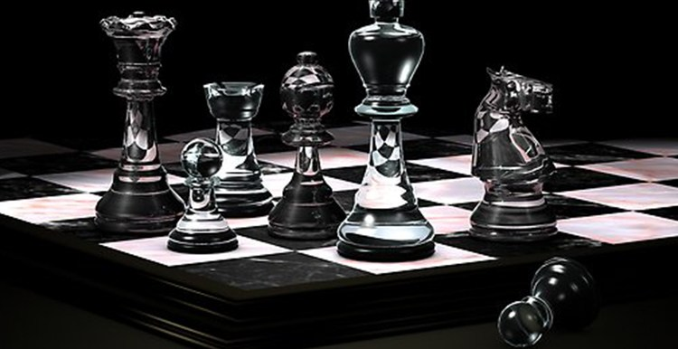 Glass Chess Sets