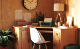 Wood Corner Desks