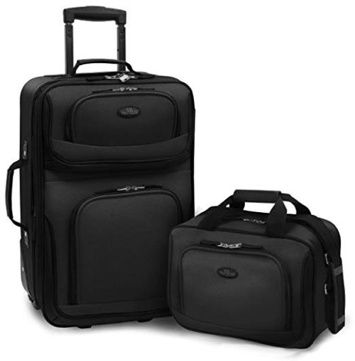 U.S Traveler Rio Two Piece Expandable Carry