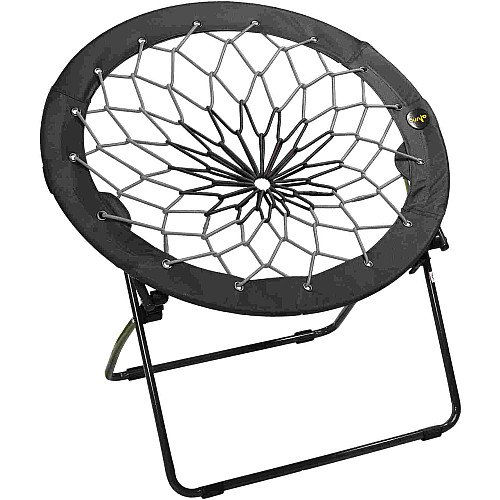 Bunjo Bungee Chair Black & Gray