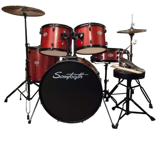 Rise by Sawtooth Full Size Student Drum Set