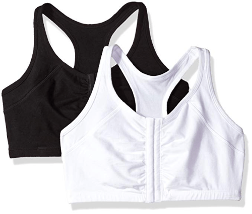 Fruit of the Loom Women's Front Close Racerback