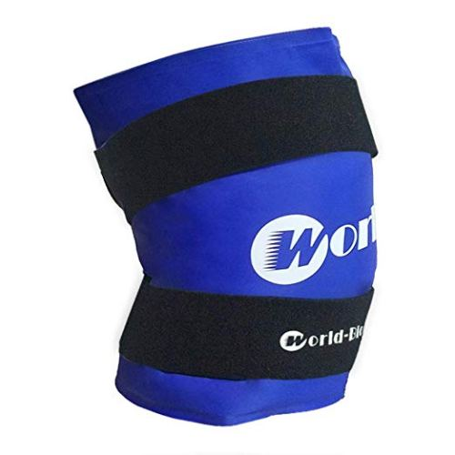 WORLD-BIO Knee Ice Pack Large Gel Compression Wrap