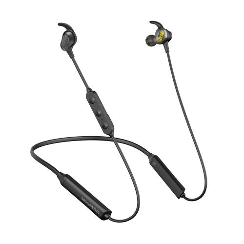 SoundPEATS Bluetooth Wireless Headphone, in-Ear Earbuds Dual Dynamic Drivers Earphones with CVC 6.0 Mic and Volume Control, IPX6 Sweatproof, 13Hour Playtime Earbuds