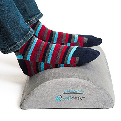 Rest My Sole - Foot Rest Cushion for Under Desk