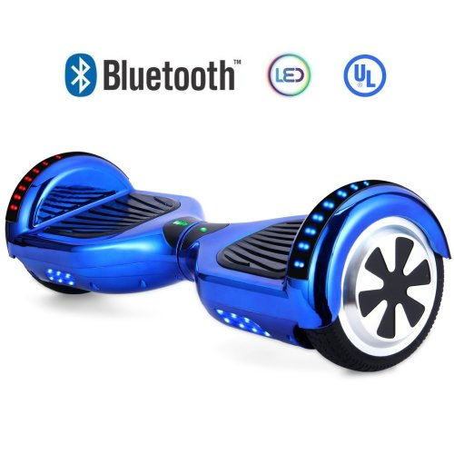 N.E Hoverboard Self Balancing Scooter UL 2272 Certified with Bluetooth Speaker and Led Lights - Cheap Hoverboards under 250$