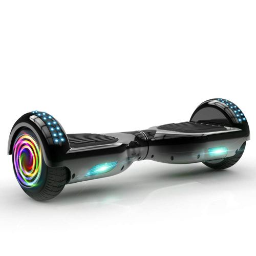 OTTO Hoverboard Two-Wheel Self-Balancing Scooter UL2272 Certificated 6.5'' All-terrian Aluminum Alloy Wheels,250W Dual Motor 225lbs Max Weight - Cheap Hoverboards under 250$