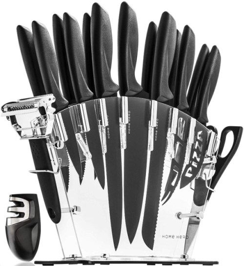 Mercer Culinary Genesis 6-Piece Forged Knife Block Set