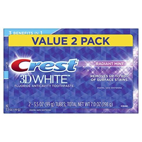 Crest 3D White Whitening Toothpaste
