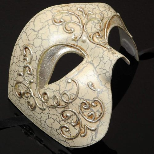 Mens Phantom of the Opera Masquerade Mask