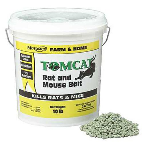 Motomco 008-32345 Tomcat Rat and Mouse Bait Pellet
