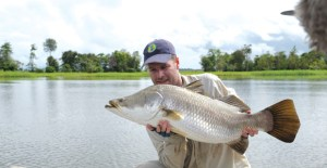 Barramundi are now being bred for release into PNG's river systems. Credit: PNGSDP