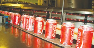 Coca-Cola is one of many international brands now manufactured in PNG. Credit: Coca-Cola Amatil