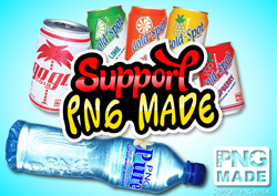 Some of Pacific Industries' soft drink range